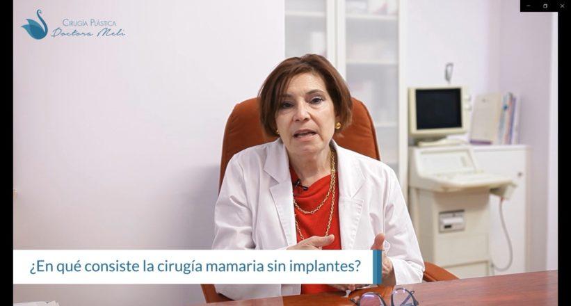 cirugía de mama sin implantes