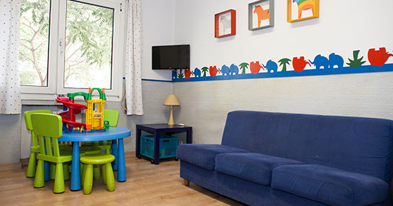 Sala de espera de la Clínica de cirugía estética Dra Meli Madrid