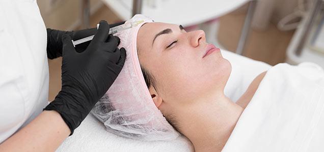 Tratamiento anti envejecimiento piel con ácido hialurónico